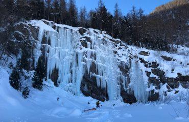 Pontechianale Buz Tırmanışı