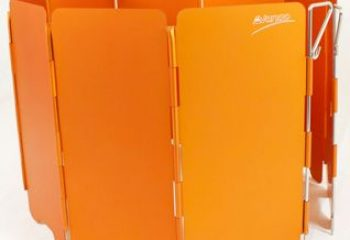 VANGO Stoves Windshield Orange Ocak Rüzgar Koruyucu