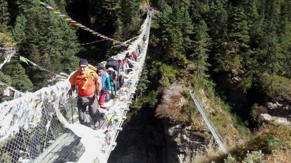 Hillary Bridge - Nepal