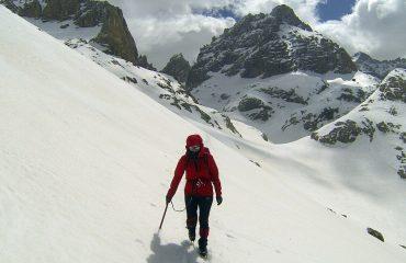Güzeller Dağı (3461 m ) Batı Kulvarı Tırmanışı